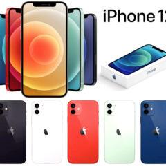 Linha de iPhones 12 da Apple