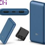 Power Bank ZMI PowerPack 20K Pro com 20.000 mAh 65W para Recarregar um Laptop