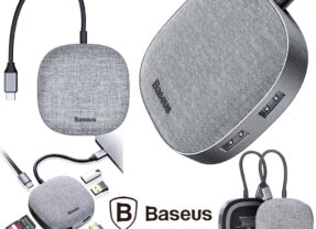 Hub Baseus Fabric Type-C 7 em 1