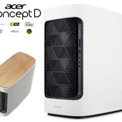 Computador Desktop Acer ConceptD 300 para Modelagem 3D