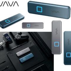VAVA SSD Touch com Leitor de Impressão Digital, Criptografia AES 256 bits e até 2TB