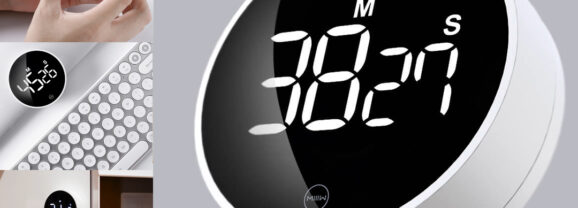 Timer Xiaomi MIIIW Bonito, Simples e Útil