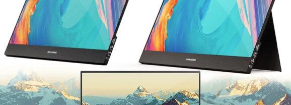 Monitor Portátil DLab 4K Portable Touchscreen