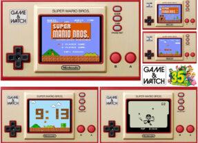 Nintendo Game & Watch em Homenagem aos 35 Anos do Game Super Mario Bros.