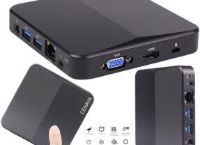 Mini Computador Cenava P3T Mini PC com Windows 10 ou Linux