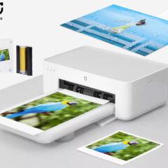 Impressora de Fotos Xiaomi Mijia Photo Printer 1S com Camada Protetora Transparente
