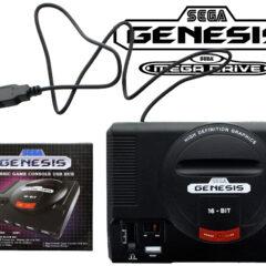 Hub USB no Formato do Sega Genesis (Mega Drive)