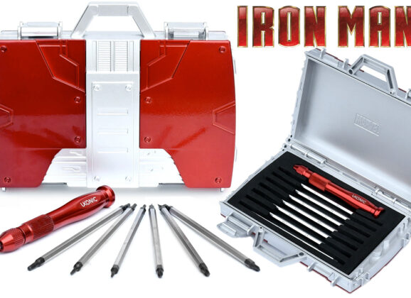 Caixa de Ferramentas Maleta Iron Man (Homem de Ferro)