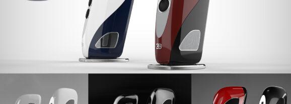 Caixas de Som Bugatti Royale Tidal Audio