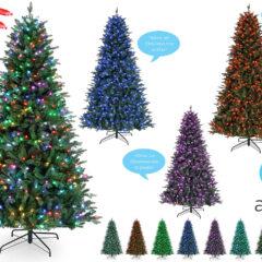 Árvore de Natal Inteligente com Comandos de Voz da Alexa