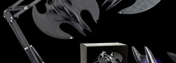 Luminária Arquiteto Batwing do Filme Batman 1989 de Tim Burton