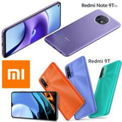 Os Primeiros Smartphones Xiaomi de 2021: Redmi Note 9T 5G e Redmi 9T
