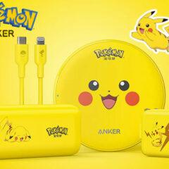 Carregadores Anker Pokémon Pikachu