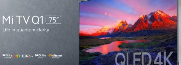 Smart TV Xiaomi Premium Mi TV Q1 com Tela de 75 Polegadas