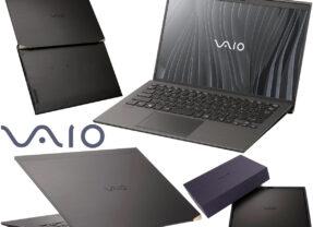 Notebook Vaio Z (2021) com Tela 4K de 14″ Polegadas e Corpo de Fibra de Carbono