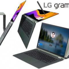Notebook LG Gram 360 2-em-1 com Tela que Vira 360 Graus