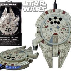 Carregador Sem Fio Star Wars Millennium Falcon