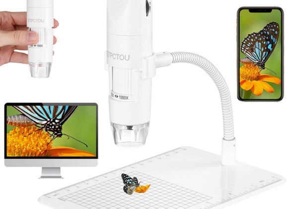 Microscópio Digital Portátil STPCTOU 50X-1000X