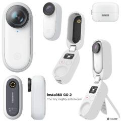 Câmera de Ação Compacta Insta360 Go 2