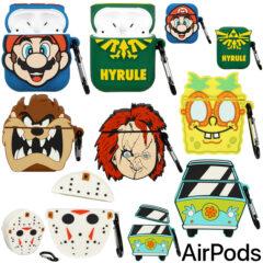 Estojos AirPods da Cultura Pop: Mario, Zelda, Bob Esponja, Taz, Jason e Chucky