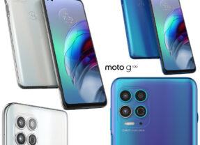 Smartphone Motorola Moto G100 com Snapdragon 870