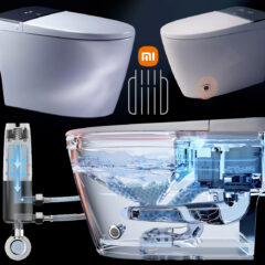 Privada Inteligente Xiaomi DIIIB Supercharged Smart Toilet