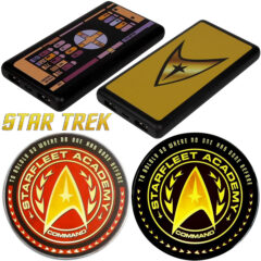 Carregador Sem Fio e Power Banks Star Trek