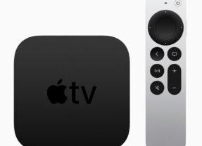 Apple TV 4K com A12 Bionic e novo Siri Remote com design melhorado
