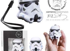 Mini Caixa de Som Original Stormtrooper Bluetooth Star Wars