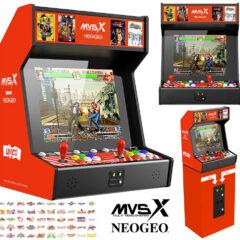 Gabinete Neo-Geo Multi Video System X Home Arcade
