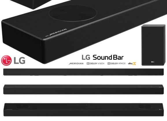 Barra de Som LG Sound Bar SP9YA com 520W e Dolby Atmos
