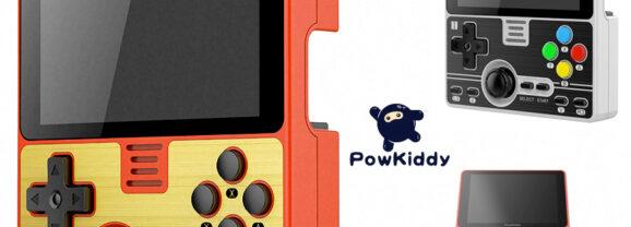 Console de Games Portátil PowKiddy RGB20 com Design Retro
