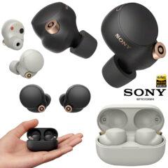 Fones de Ouvido Sony WF-1000XM4 TWS com Cancelamento de Ruídos Ativo
