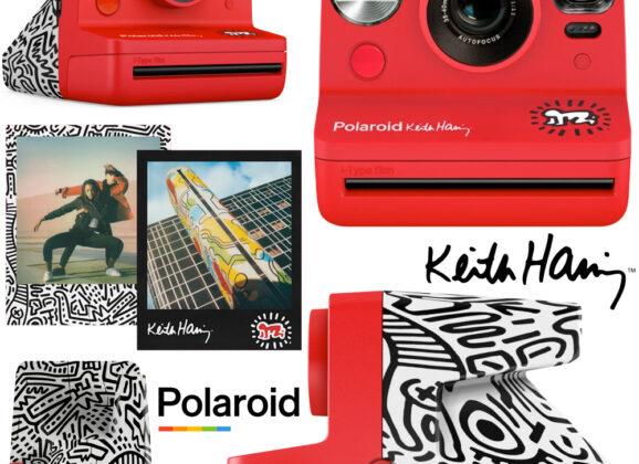 Câmera Polaroid Now Edição Keith Haring