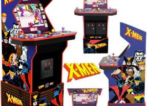 Máquina Arcade X-Men (1992) e mais Dois Games Clássicos dos Anos 90