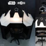 Cadeira e Mesa Star Wars: Darth Vader Meditation Chamber (O Império Contra-Ataca)