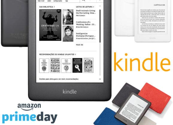 Amazon Prime Day: Kindle 10a. Geração na Promoção por R$269