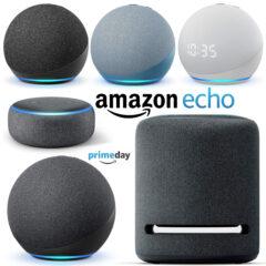 Toda a Linha Amazon Echo com Descontos Excelentes no Prime Day!