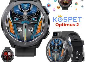 Relógio Smartwatch KOSPET Optimus 2 com Câmera de 13MP