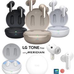 Fones de Ouvido LG Tone Free DFP8W com ANC e Estojo UVnano