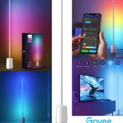 Luminária de Pé Inteligente Govee Lyra RGBIC com Design Diferente