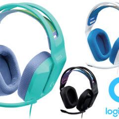 Headset Gamer Logitech G335 com Fio e 240g de Peso