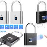 Cadeado com Impressão Digital Towode Smart Fingerprint Lock