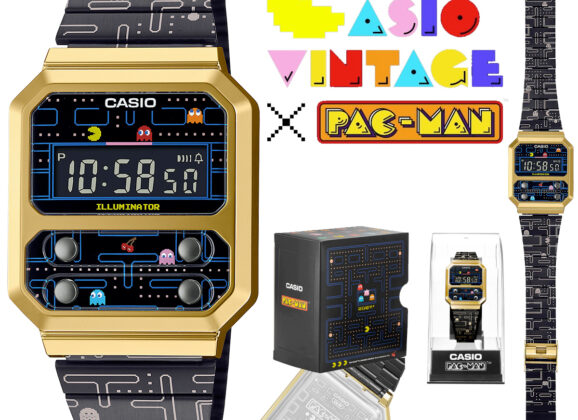 Relógio de Pulso Casio Pac-Man Vintage Edition (A100WEPC)