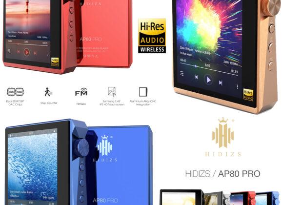 Player de Música Hi-Res Hidizs AP80 Pro LDAC