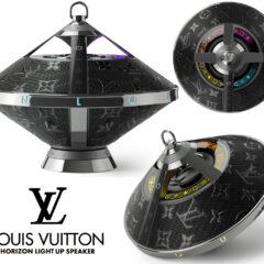 Caixa de Som Louis Vuitton Horizon Light Up com Formato Diferente