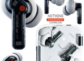 Fone de Ouvido Transparente Nothing Ear (1)