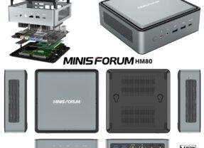 Mini Computador Minisforum EliteMini HM80