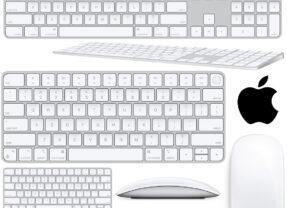 Periféricos Apple 2021: Novos Teclados com Touch ID, Magic Mouse e Magic Trackpad