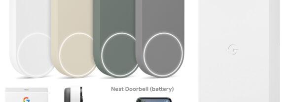 Campainha Inteligente Google Nest Doorbell com Vídeo e Bateria